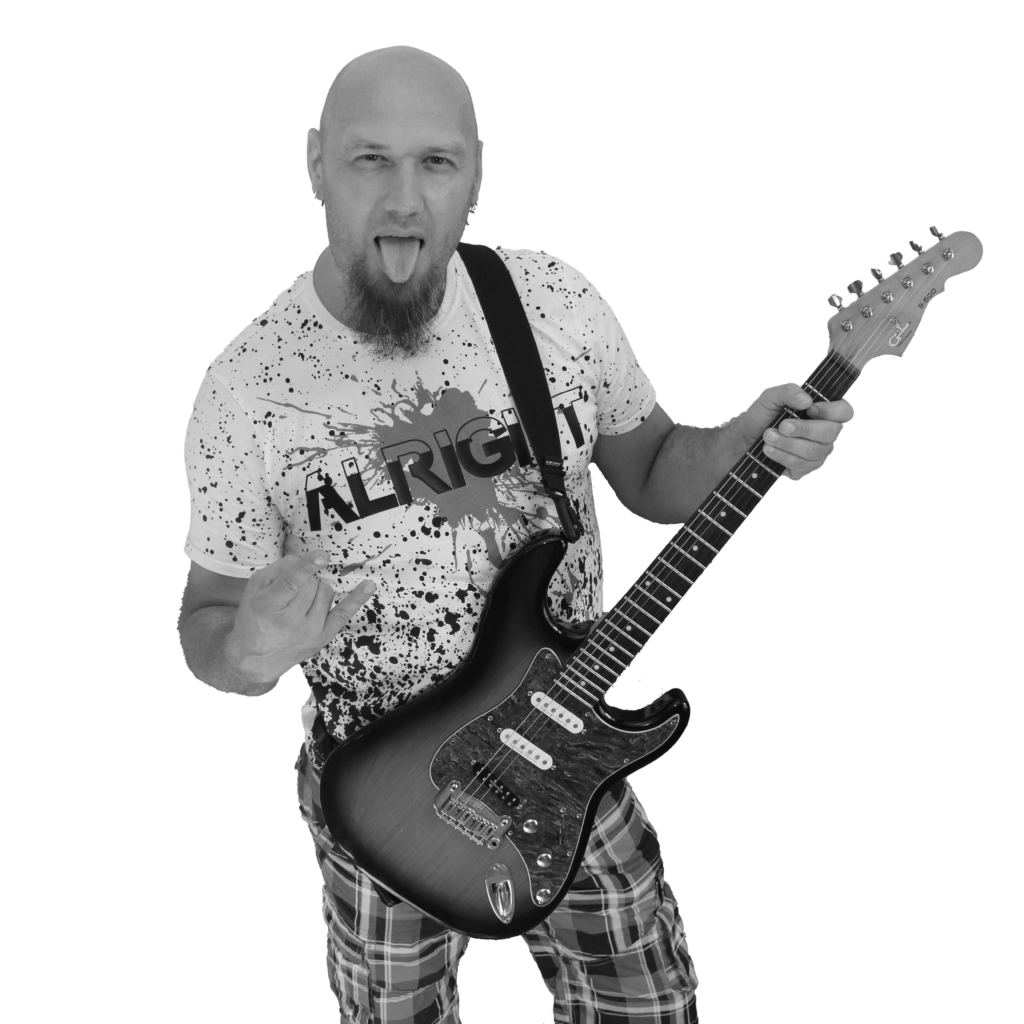 Klaus: Rhythmus-Gitarre
